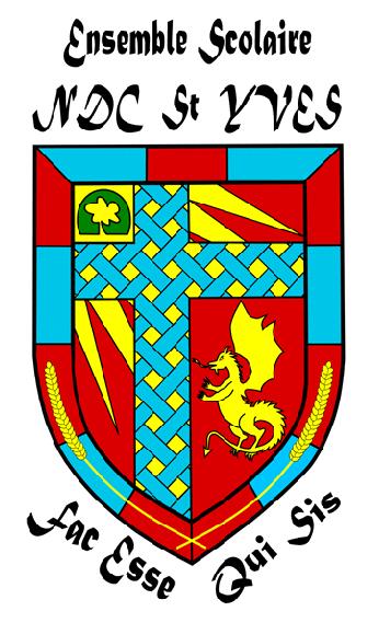 Blason Collège NDC St Yves